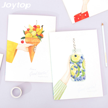 Joytop Have a good taste Profusion Fruit Planner B5 Notebook Travel Journal Diary Book Exercise Binding Note Notepad Gift 2017