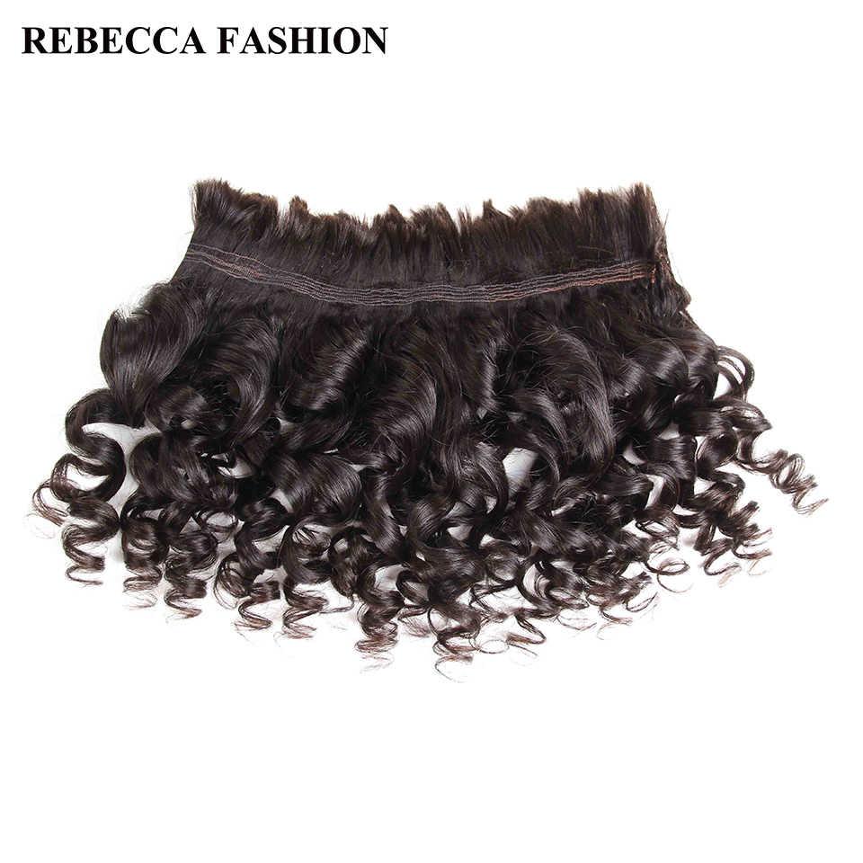 Rebecca бразильский свободная волна человеческих плетения волос 4bundles не утка 4 шт. 10-30 дюймов Волосы remy Bulk бесплатная доставка