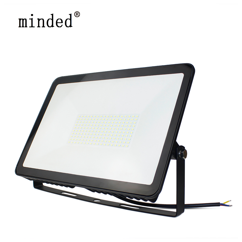 Floodlight Led Spotlight Outdoor IP66 150W 100W 50W 30W 10W 220V Outdoor Lighting Led Flood Light Floodlights Led Reflector mxdl 30w led floodlights 3 modes 2400 lm led reflector floodlight spotlight outdoor camping work light with charger wall lamp