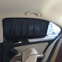 2 * 70*39Car Window Curtain Auto Sun Shade Shield Visor UV Proof Sunshades Covers With Aluminum Alloy Car Accessories