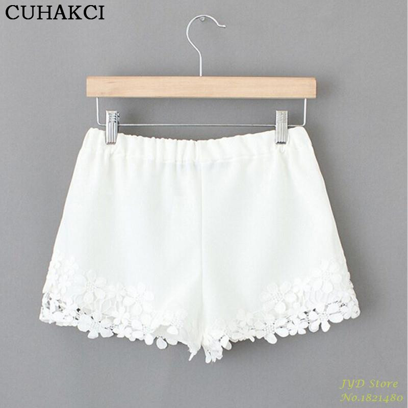 Popular White Lace Shorts-Buy Cheap White Lace Shorts lots from ...