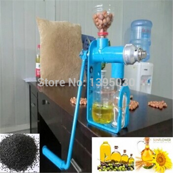 Hand Operated Oil Press Machine For Family