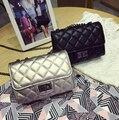 2016 women's handbag small plaid fashion chain bag messenger bag mini bags casual ladies fashion leisure handbag shoulder bags