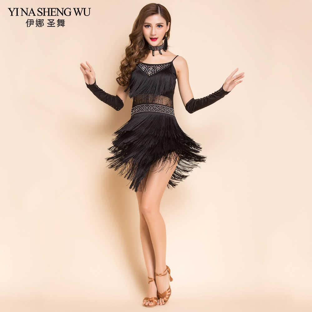 8ab930789b13c Detail Feedback Questions about 2018 New Fashion Women Dance Costumes 4pcs Set  Latin Salsa Dress Samba Costumes Women Latin Dance Practice Performance ...