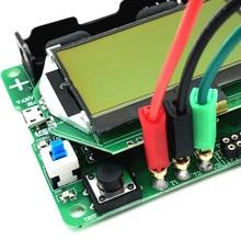 2017 New version 12864 LCD SUNLEPHANT Transistor Tester Diode Triode Capacitance ESR Meter/MOS/PNP/NPN M328 Multifunction Meter
