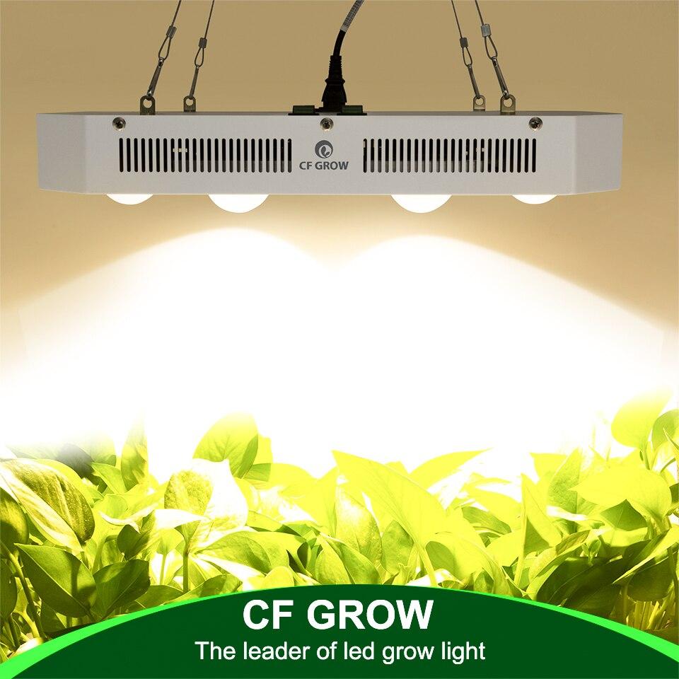 Citoyen 1212 COB LED grandir lumière spectre complet 300 W 600 W 900 W 3500 K 5000 K = HPS lampe de croissance pour plante d'intérieur Veg fleur éclairage