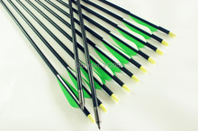 Longbowmaker 12PCS 32 Inches Fiberglass Target Practice Arrows F2GWT2