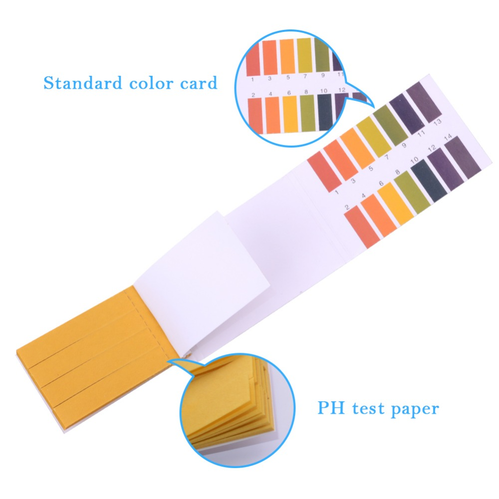 80 Strips Ph Indicator Paper Litmus Paper Water Testing Kit Juangadget