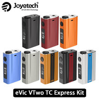 Original 80W Joyetech EVic VTwo Battery 5000mAh Temp Control Mod Real Time Clock Upgradeable Electronic Cig