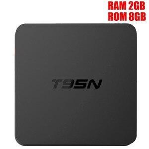 Image 2 - Mini T95M M8S Pro أندرويد TV BOX1G/2G/8G Amlogic S905 رباعية النواة Cortex A53 أندرويد 6.0 دعم HDMI 2.4GHZ واي فاي تدفق وسائل الإعلام