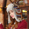 Winter Hats For Men Women Bomber Hat Fur Hat With Ears Cap With Ear Flags Russian Hat Gorras Chapeu Snow Caps Earflap Ski