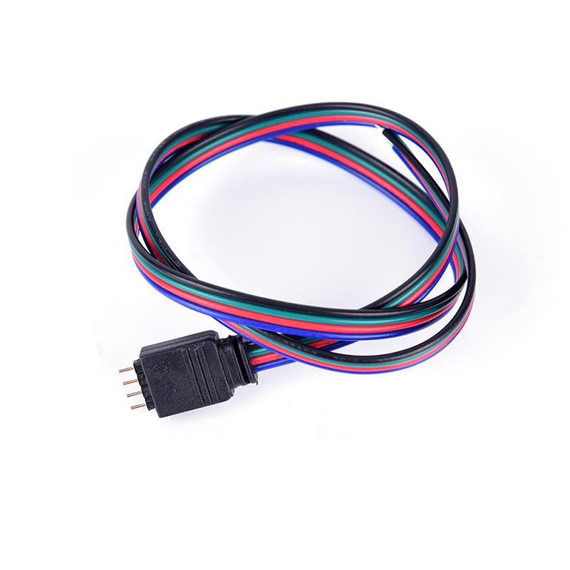 Connectors Lights & Lighting 1pcs 4 Pin 3528/5050 50mm Rgb Led Strip Connector Colorful Led Tape Light Connector For Waterproof Strip To Wire Use