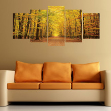 Wall Stickers Home Decoration Accessories for Living Room Autumn Scenery Removable 3d Wall Stickers House Decoration 3pcs set 3d removable room decoration wall stickers