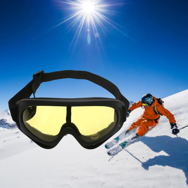 34e691f212c0 Unisex Anti-fog Spherical Skiing Goggles Multicolor Double Lens  Professional Cycling Snowboard Skating Glasses UV Sunglasses