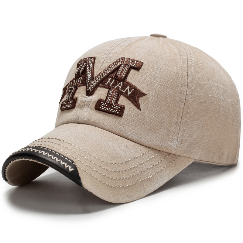 Valpeak 2018 New Style Cotton Embroidery Letter M   Baseball     Cap   Snapback   Caps   Bone casquette Hat   baseball     cap   men Fashion   Caps