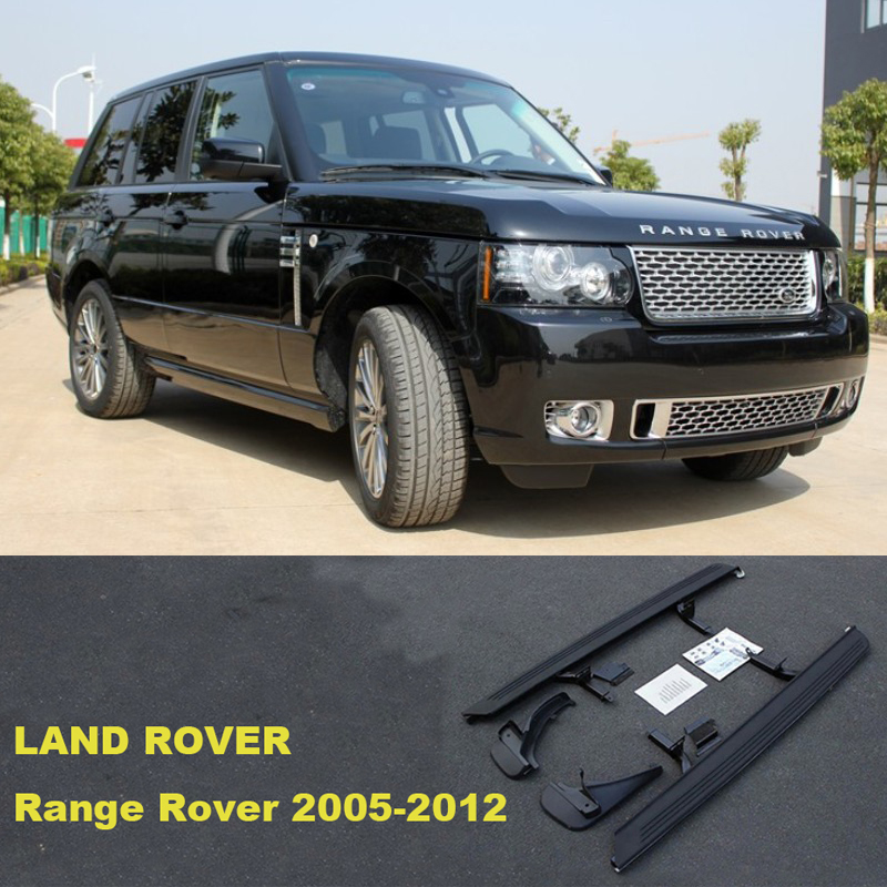 For LAND ROVER Range Rover 2005-2012 Car Running Boards Side Step Bar Pedals High Quality Brand New Original Models Nerf Bars ...
