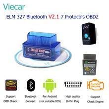 Viecar ELM 327 Mini bluetooth V2.1 OBD2 ELM327 Scan Tool Eml327 Car Diagnostic Tool OBDII Scanner Diagnostic-Tool OBD 2 Adapter