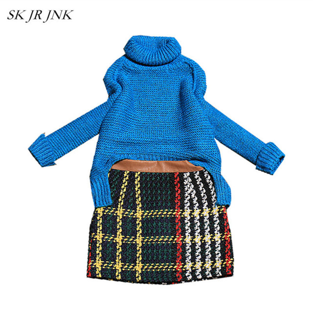 Spring Autumn Women's Suits Casual Knitted Sweater Two Piece Outfits Female Long Lattice Pants Tops And Pants 2 Piece Sets SR414