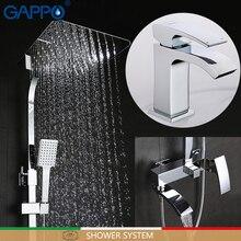 GAPPO ванна кран ванна смесители для раковины Смеситель для мойки Робине бенуар душ система