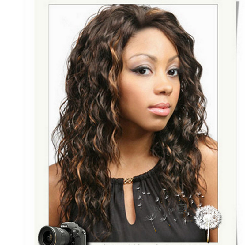 Online Buy Wholesale Blonde Highlights Curly Hair From China Blonde Highlight