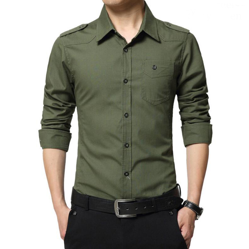 Online Get Cheap Military Style Dress Shirts -Aliexpress.com ...