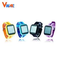 Vwar GW200S Q100 Bebé Reloj GPS con Wifi de Posicionamiento 1.54 pulgadas a Color de Pantalla Táctil SOS Seguro Contra la Pérdida-Kids Tracker GPS reloj