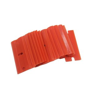 Image 3 - Glass Scraper 20pcs Plastic Safety Blades for Removing Vinyl Decals Stickers &Glue from Cars Boats and Other Delicate Surfaces