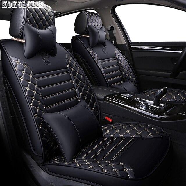 Aliexpress Com Buy Kokololee Pu Leather Car Seat Covers For