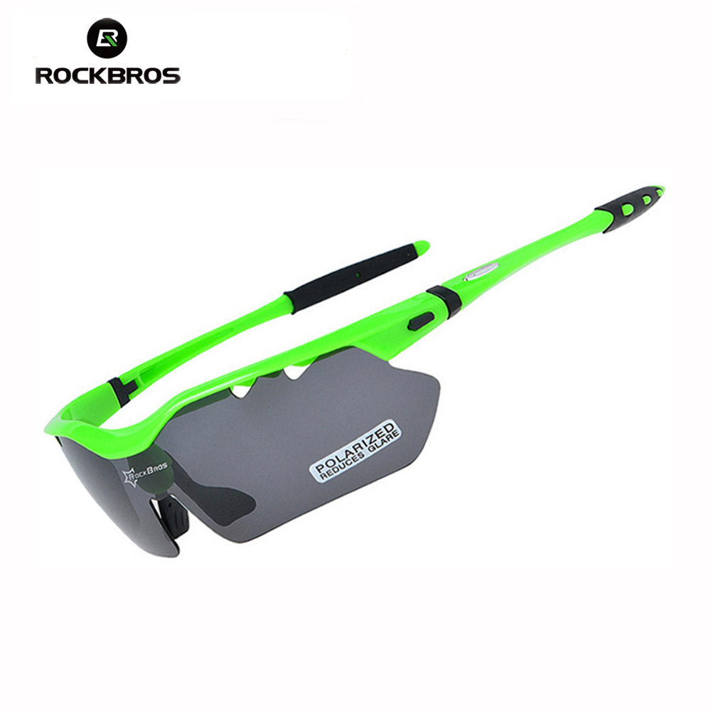 Hot RockBros TR90 Polarized Cycling Sun Glasses Outdoor Sports Bicycle Glasses Bike Driving Eyewear Sunglasses Goggles 5 Lens aoron 2017 men brand designer driving classic polarized sunglasses goggles uv400 pilot eyewear sun glasses oculos de sol a210
