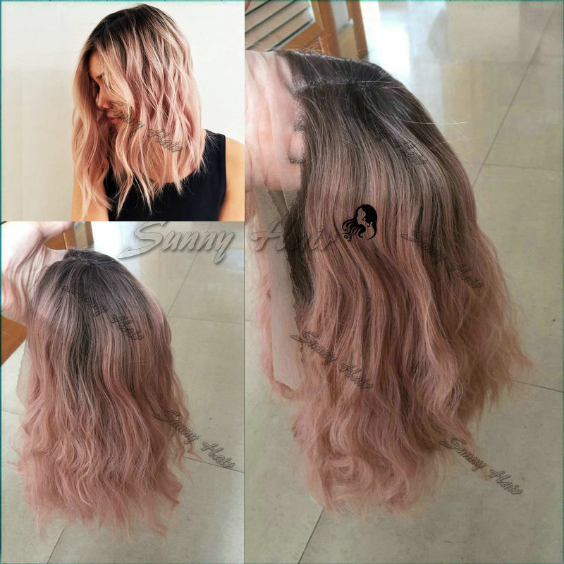 Popular Rose Gold Wig-Buy Cheap Rose Gold Wig lots from China Rose ...
