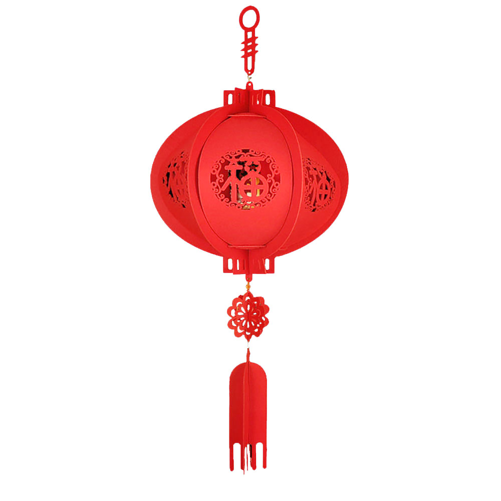 Китайский фонарь китайский красный фонарь традиционный 30 см Нетканые тканевые украшения дома счастливый год