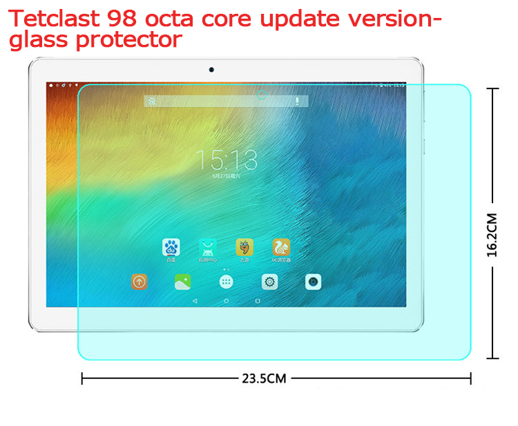 For the Teclast 98octa core  update version Tempered Glass Screen Protector  protective film