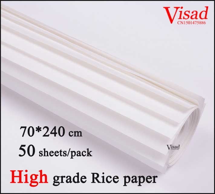 70*240 cm Chinese rice paper painting supplies artist paper for for Painting & Calligraphy  raw xuan paper archaistic chinese rice paper cardboard for gongbi painting calligraphy blinding notebook painting canvas paperboard