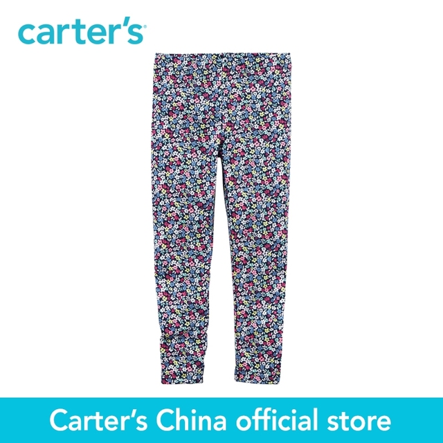 6cdfb4142403a Carter's 1pcs baby children kids Floral Leggings 236G355,sold by Carter's  China official store