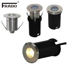Luz subterrânea de led de 3w, à prova d' água, para áreas externas, para jardim, piso embutido, quintal, paisagem ip68 dc12v ac220v