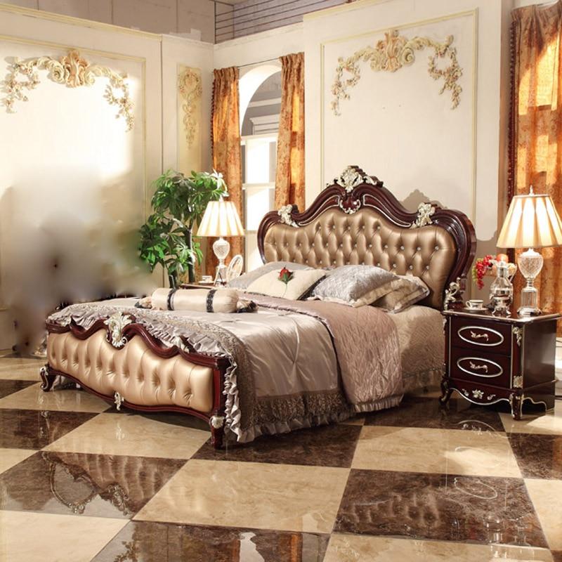 Wood bed frames promotion shop for promotional wood bed - Bedroom furniture for married couples ...
