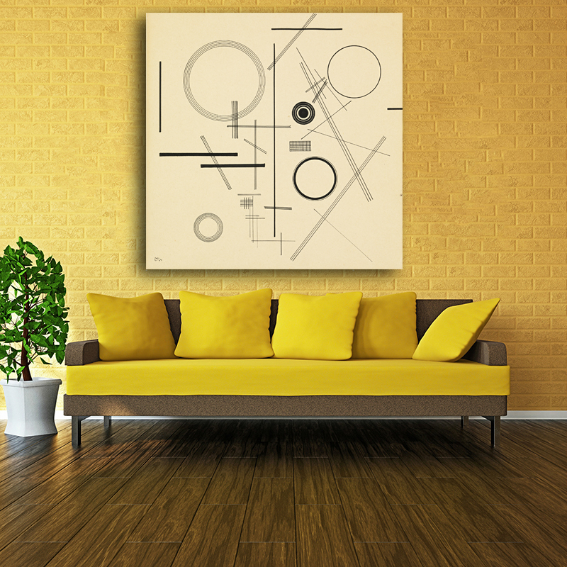 Funky Fabric Covered Canvas Wall Art Picture Collection - All About ...