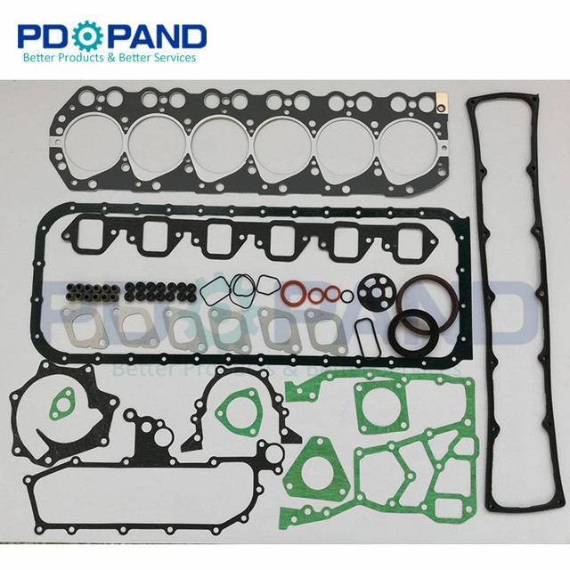 US $57 15 13% OFF|TD42 TD42T TD42 T Overhaul Engine Rebuilding Gasket Set  10101 VB285 10101 06JX6 for Nissan Patrol GQ Y60 4169cc 4 2L-in Engine