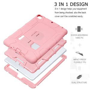 Image 4 - Shockproof Heavy Duty Rubber Hard Stand Case Cover For iPad 9.7 2018 Case 6th Gen A1893  A1954 2017 5th Gen A1822 A1823