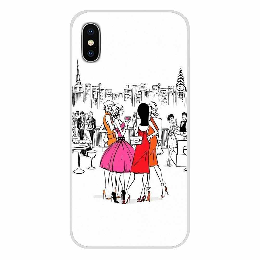 Sex and the City American TV Art Poster For Xiaomi Mi6 A1 5X 6X Redmi Note 5 5A 4X 4A 4 3 Plus Pro pocophone F1 Phone Shell Case
