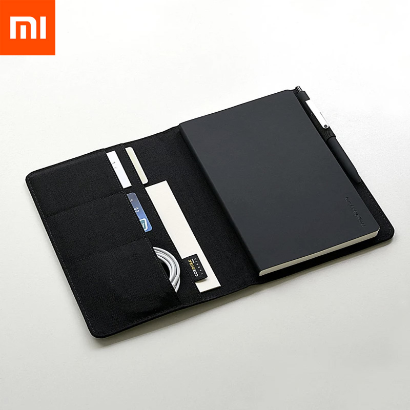 Xiaomi Mijia Smart Home Kaco Noble Paper NoteBook PU Leather Card Slot Wallet Book For Office Travel With A Gift