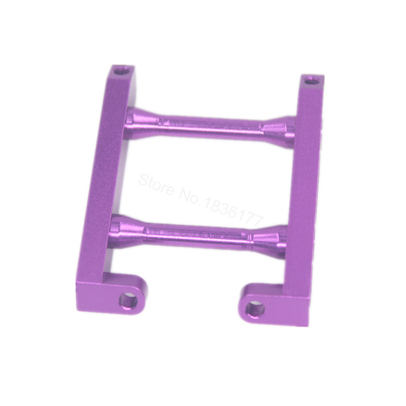 HSP 108036 Aluminum Rear Brace 08031 For RC 1:10th Upgrade Parts Off Road Monster Truck Model Car BRONTOSAURUS 94188 94111 03007 motor mount rc hsp 1 10th on road drift off road car buggy monster truck rc car parts child toys