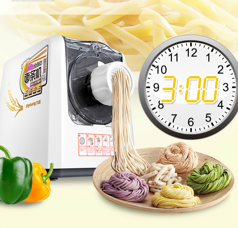Noodle maker Full automatic household noodle bar machine stainless steel screw electric pressure surface slim machine. automatic pasta machine household pasta machines electric noodle pressure machine noodle maker