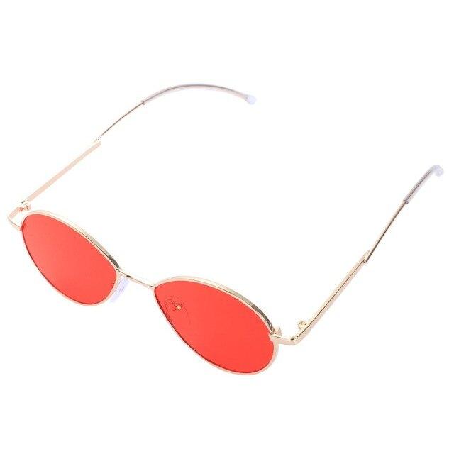 e84abab3a08 Vintage Sunglasses Women Brand Designer Bending Mirror Leg Luxury Oval Sun  Glasses High Quality Fashion 2018 Shades
