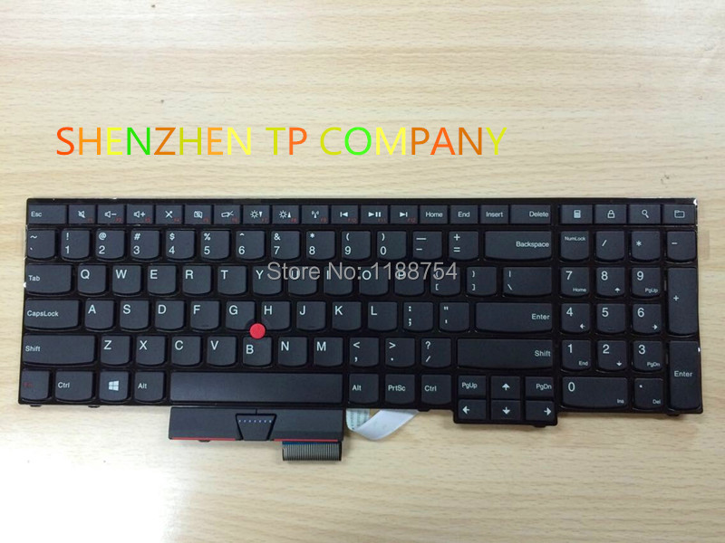 Genuine New US KEYBOARD for Lenovo ThinkPad Edge E530 E530C E535 E545 04Y0301 0C01700 V132020AS3 new orig for ibm lenovo e530 e535 e530c e545 15w bottom case cover 04w4110 04w4111 ap0nv000l00