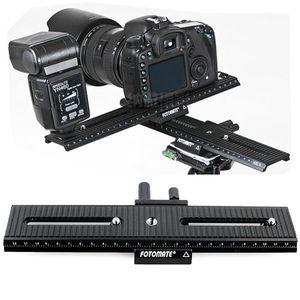 Image 5 - Acessórios da câmera Fotomate LP 02 Faixa de alta qualidade 200mm 2 Way Macro Focando Rail Slider Placa 1/4 Parafuso para DSLR Camera