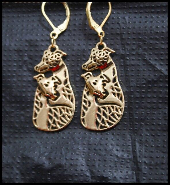 Фото серьги с героями мультфильмов серьги в виде собак золотого цвета цена