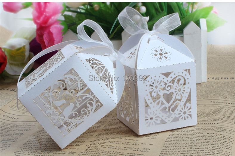 Wedding Favor Bags With Ribbon : Candy Gift Boxes With Ribbon Wedding Party Favor Creative Favor Bags ...