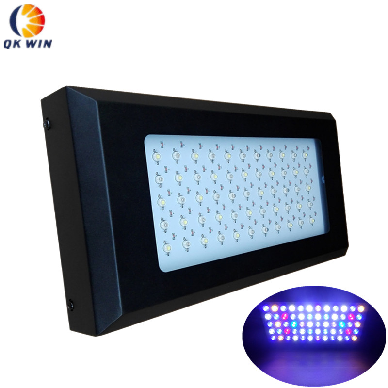 Best 165w Led aquarium light 55x3W=165W grow light for coral reef fish tank plants dropshipping populargrow wifi 165w aquarium light for reef coral fish with dimmable and wifi function marine light best for tank