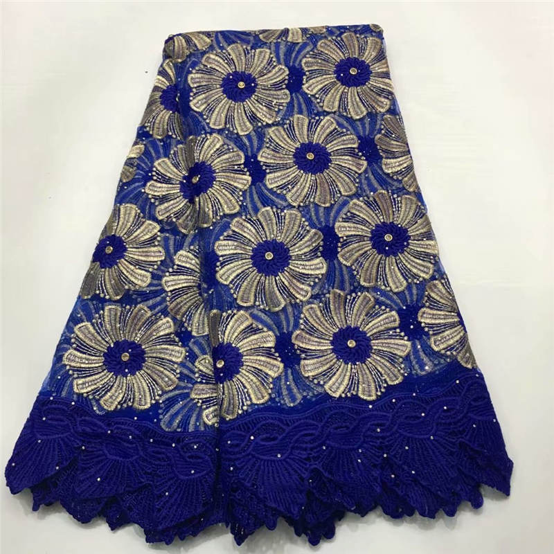 Beautifical Sky Blue Lace Dress French Lace Embroidery Fabric African Lace Fabric 2018 High Quality Lace For Wedding Tcn590 Apparel Sewing & Fabric Arts,crafts & Sewing